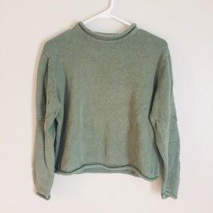 Khaki Green Sweater